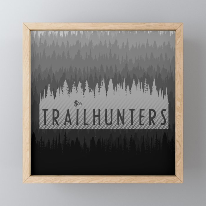 TH Framed Mini Art Print