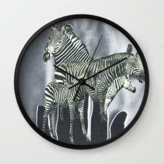 Barberpole Wall Clock