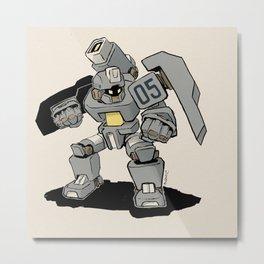 G.E.O.M.X. Unit 05 Squatch Metal Print