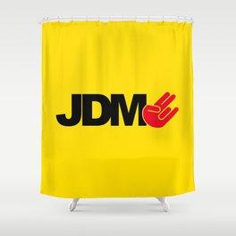 JDM shocker v3 HQvector Shower Curtain