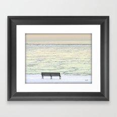 Where is everybody???? Framed Art Print