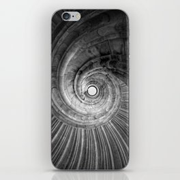 Winding staircase iPhone Skin