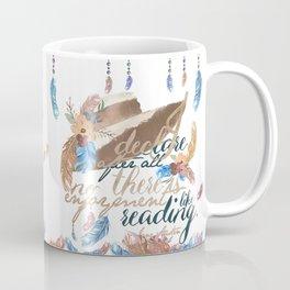 Jane Austen - No Enjoyment Like Reading Coffee Mug