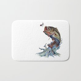 Bass Fish Bath Mat