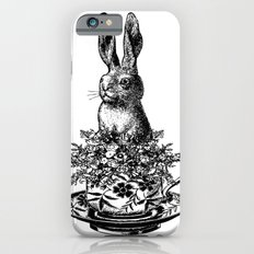 Rabbit in a Teacup   Black and White Slim Case iPhone 6s