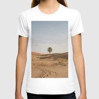 desert T-shirts featuring Desert  by Gerard Puigmal