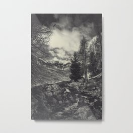 timeless mountains Metal Print