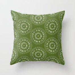 Apophenic Art #1 - When the going gets weird, the weird turn pro. Throw Pillow