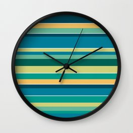 Stripey Wall Clock