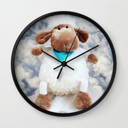 little sheep Wall Clock
