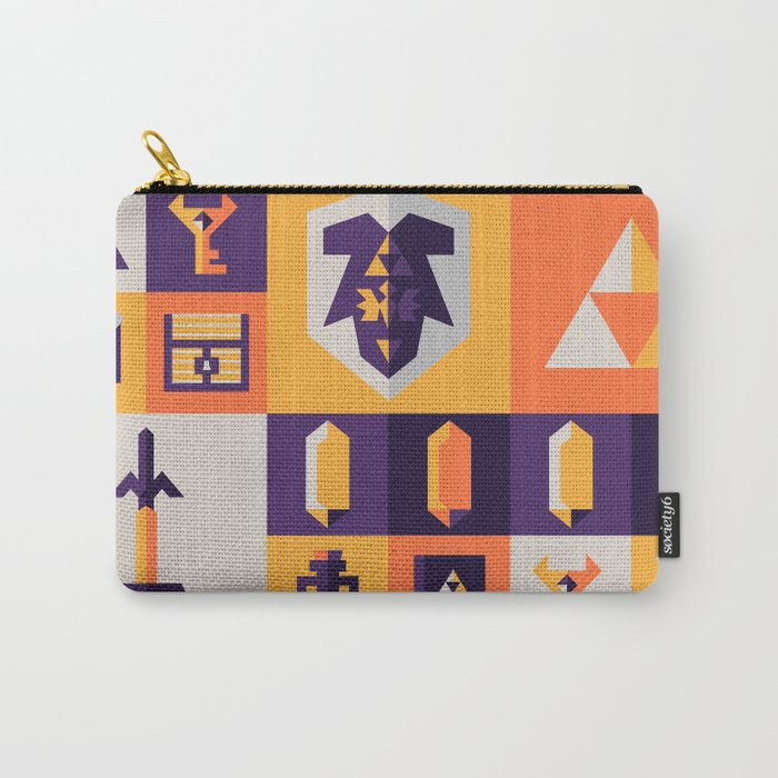 Legend of Zelda Items Carry-All Pouch