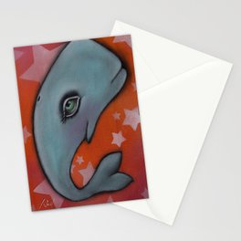 Waylon the Whale Stationery Cards