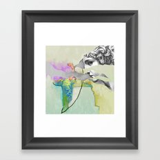 Ghost in the Stone #3 Framed Art Print