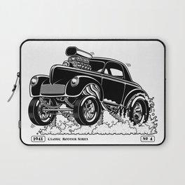 1941 WILLYS Classic Rodder - Black Laptop Sleeve