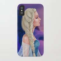 elsa iPhone & iPod Cases featuring Elsa by Jolenebydesign