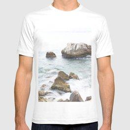 Rocky Ocean, Coastal Photography, Rocky Shore nr 6 T-shirt
