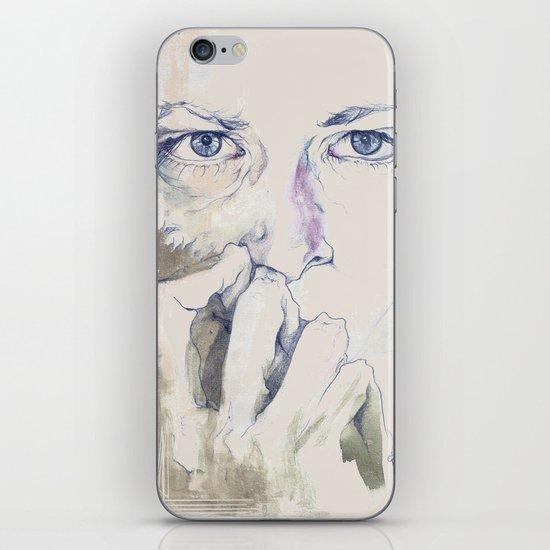 retrato iPhone & iPod Skin
