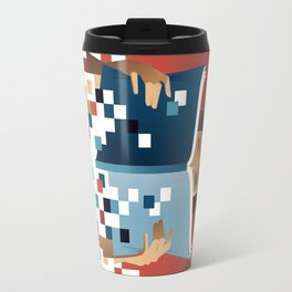 Print to Pixels Travel Mug