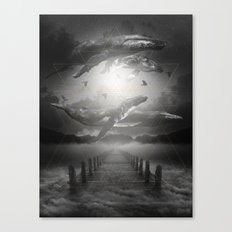 The Space Between Dreams & Reality II Canvas Print