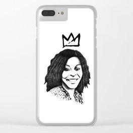 Sandra Bland Clear iPhone Case