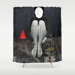In halt Shower Curtain