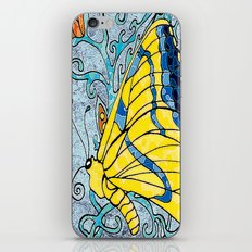 Butterfly in Vines  iPhone & iPod Skin