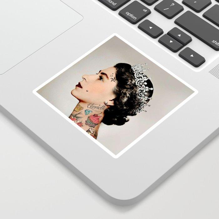 Rebel Queen Sticker