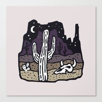 arizona Canvas Prints featuring Arizona by WEAREYAWN