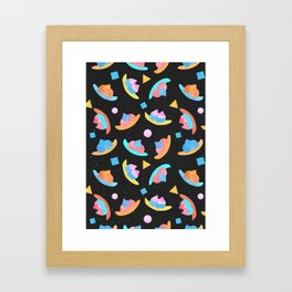 Cosmic Banana Split Framed Art Print