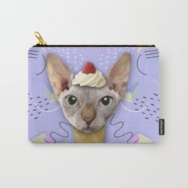 SPHYNX CAT ICE CREAM Carry-All Pouch