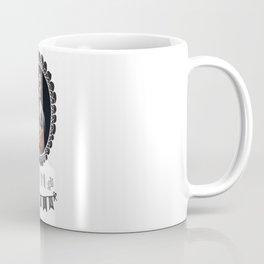 Zoe the Mink Munching Zombie Coffee Mug
