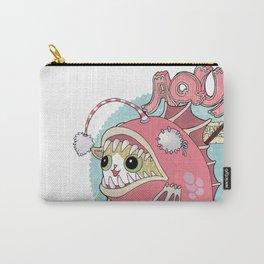 Aqua cat_Muka Carry-All Pouch