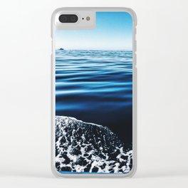 Big Blue Sea Clear iPhone Case