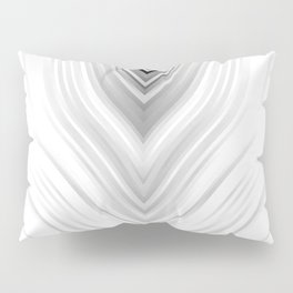 stripes wave pattern 3 bwb Pillow Sham