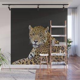 Jaguar At Rest - Big Cat Art Wall Mural