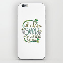 Seeking iPhone Skin