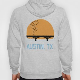 Austin Texas Bat Bridge Hoody