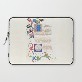 With that sweet moon language Laptop Sleeve