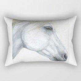 Sacred Stallion Rectangular Pillow