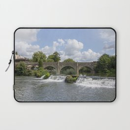 Bathampton bridge Laptop Sleeve