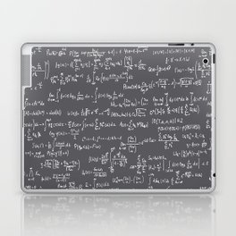 Math Equations // Charcoal Laptop & iPad Skin
