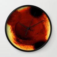 tyler durden Wall Clocks featuring Tyler Durden... by Jean-Philippe Richard-Charman