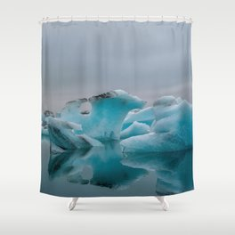 Ice, Ice, Baby Shower Curtain