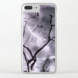 Lightning Storm Clear iPhone Case