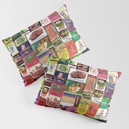 Antique Matchbooks Pillow Sham