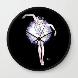 WhiteSwan Coolnoodle Wall Clock
