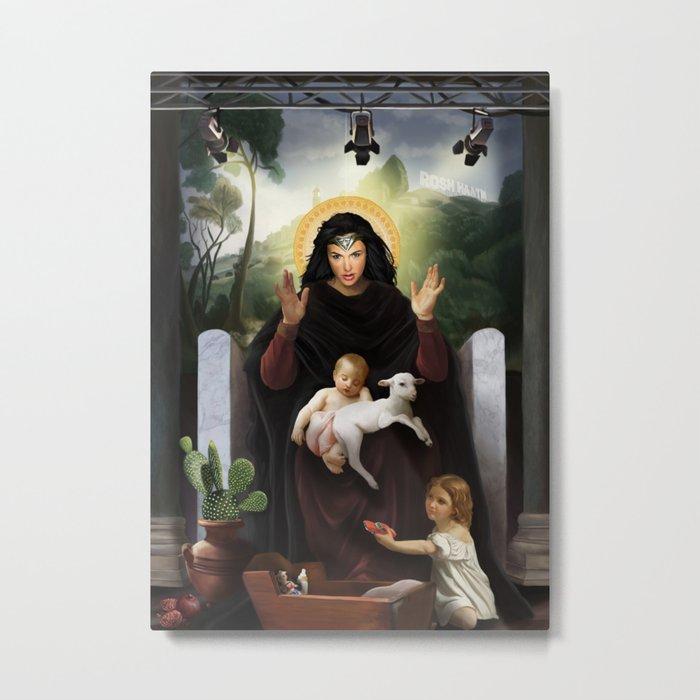 Gal Gadot / holy mother Metal Print