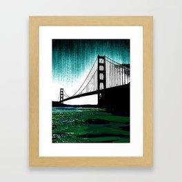 Blacken Gate-San Francisco Framed Art Print