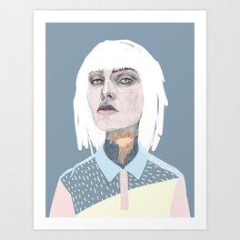 Blanca Art Print