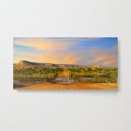 Sunset on the Cockburn Range - The Kimberley Metal Print